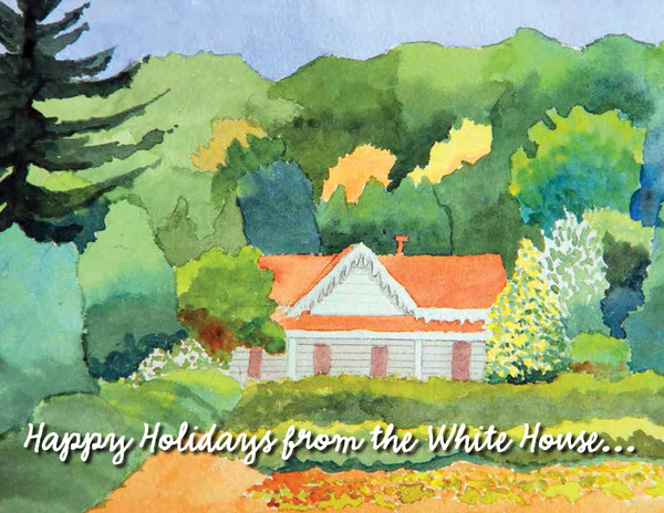 Holiday Card White House 3